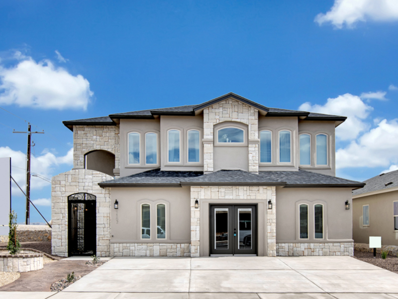 Tuscany Model Home Elevation