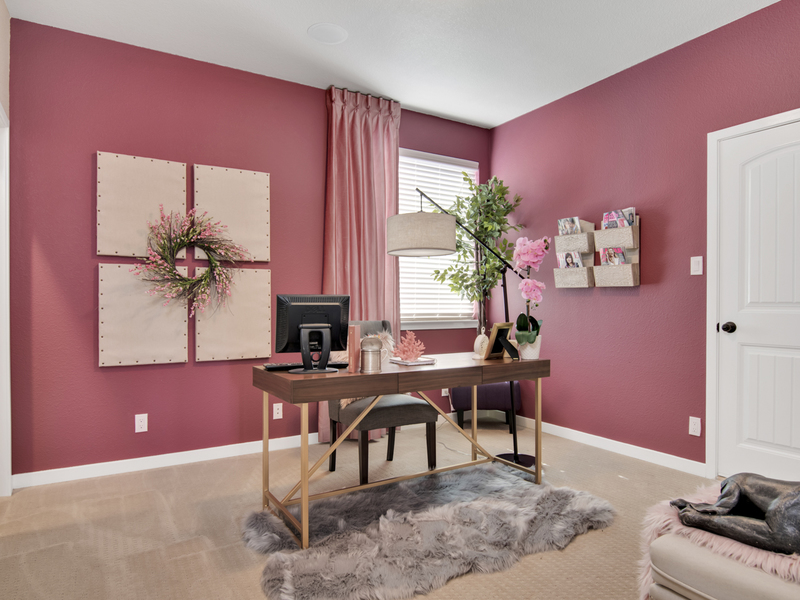 Tuscany Model Home - Office Space