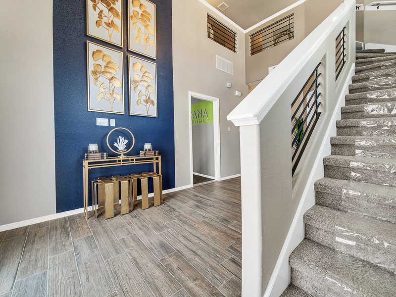 Brooks Model Home - Entrance Interior