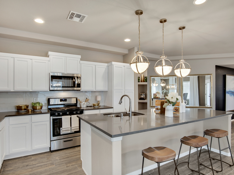Brooks Model Home - Kitchen