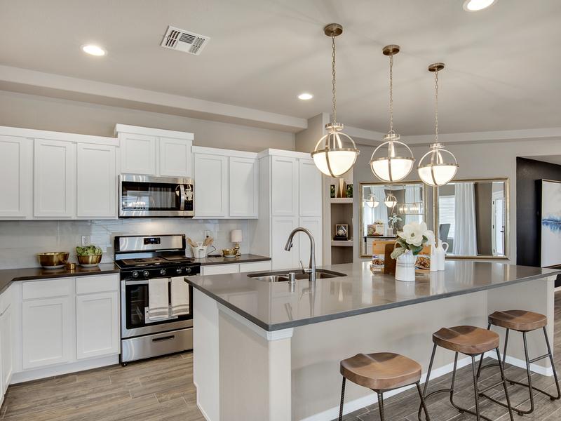 Brooks Model Home - Kitchen
