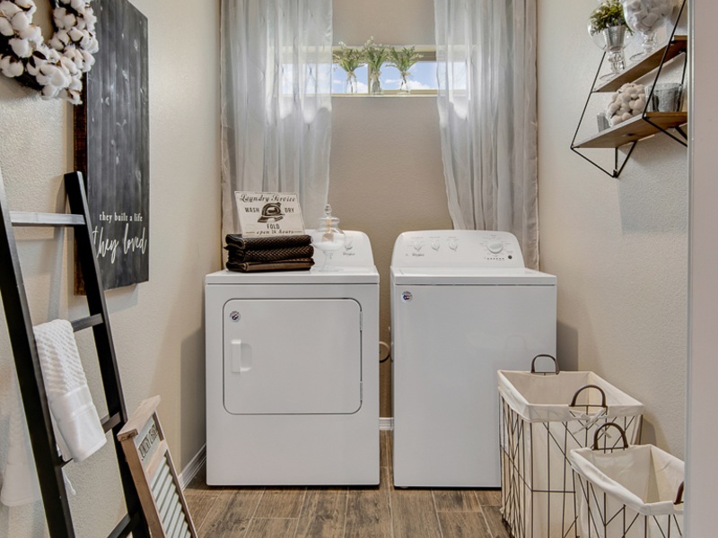 Brooks Model Home - Laundry Room