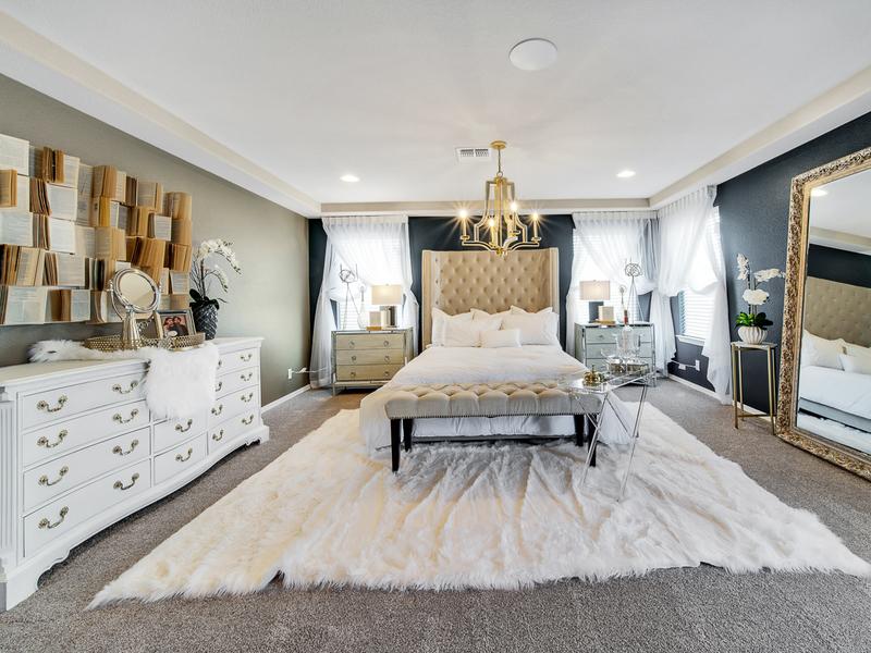 Brooks Model Home - Master Bedroom