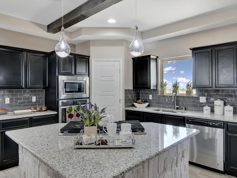 Frida Model Home - Kitchen