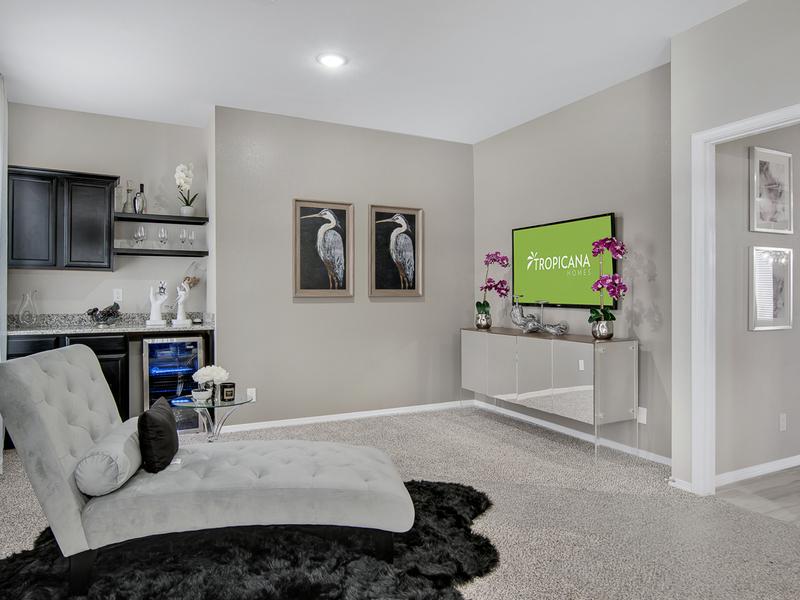 Frida Model Home - Master Bedroom Extension Morning Bar