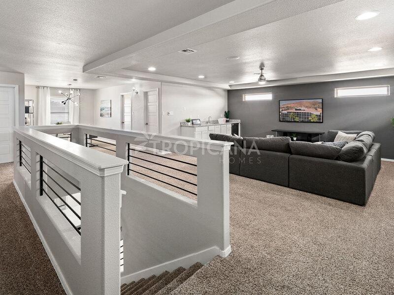 Katharine model home - Bonus room