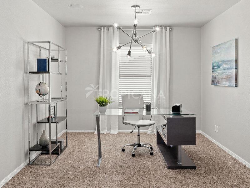 Katharine model home - Office niche