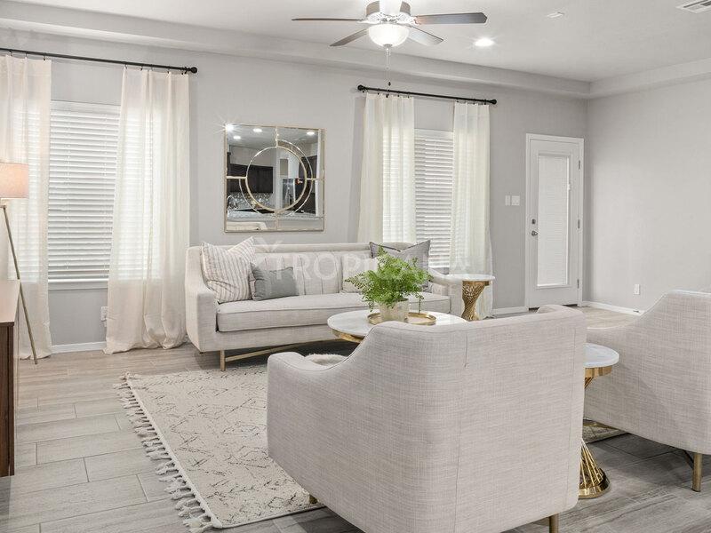 Kandy model home - Living room