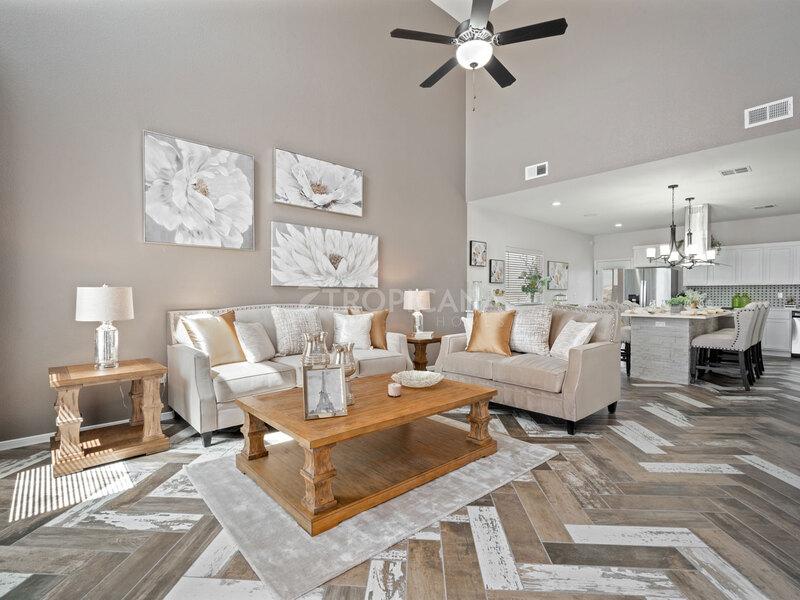 Eastlake model home - Living Room
