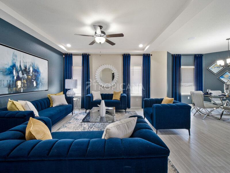 Bryan model home - Livingroom