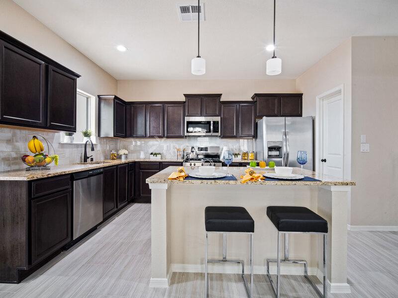 Bryan model home - Kitchen