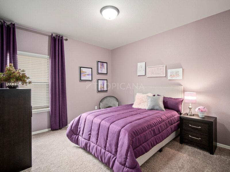 Bryan model home - Bedroom 1