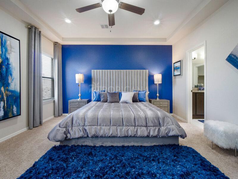 Bryan model home - Master bedroom