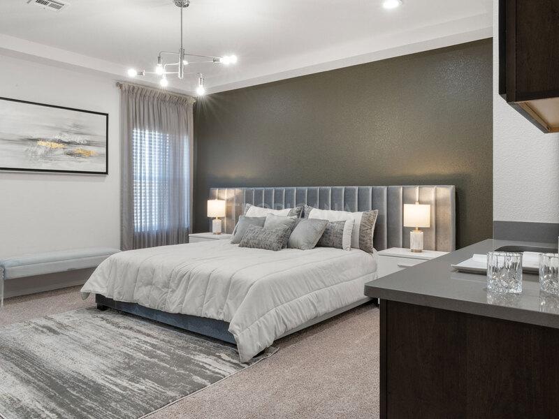 Tampachoa w/ loft - Master bedroom with upgraded wet bar
